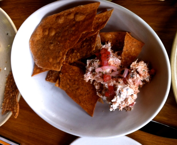 Salmon Dip (not on the menu anymore)