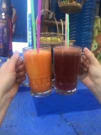 Fresh juice in Chefchaouen